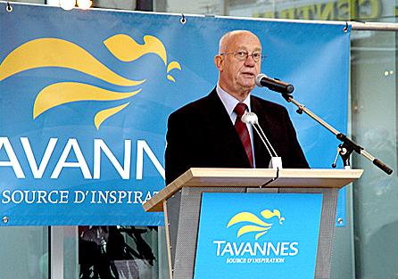 Inauguration de l'hôtel de ville Ambiance